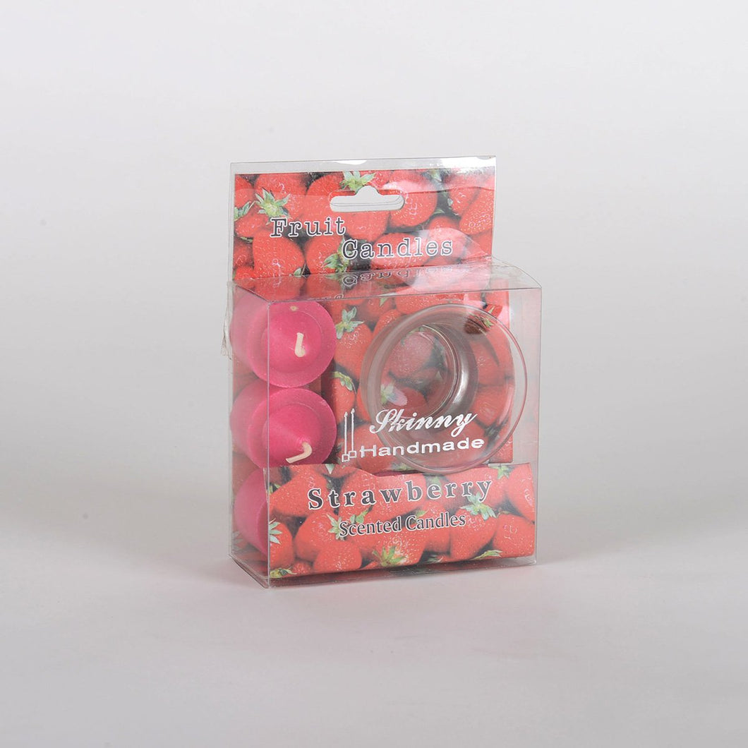 Fruit Scented Candle - Strawberry