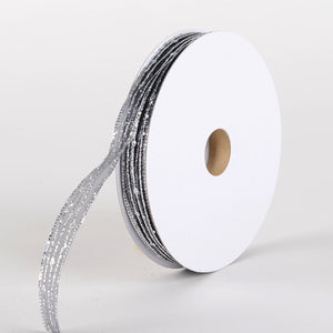 "Gift Wrap//Packaging Gold or Silver 10 or 50 yards 7//8/"" Metallic Ribbon"