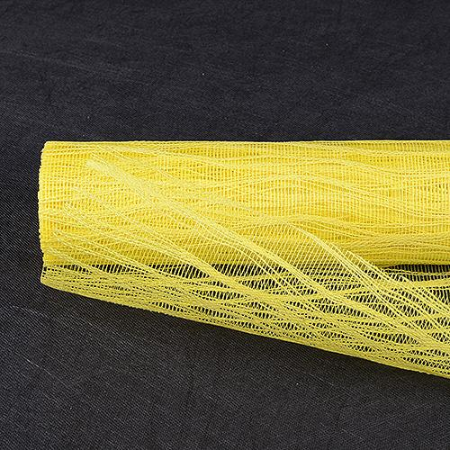 Yellow - Twine Mesh Wrap ( 21 Inch x 6 Yards )