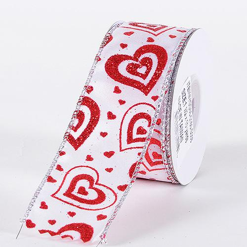 Valentine Ribbon Red ( 1-1/2 Inch x 10 Yards ) - YGG550150S003