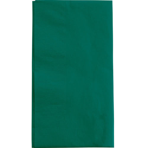 Hunter Green Party Pack Guest Towels 40pcs