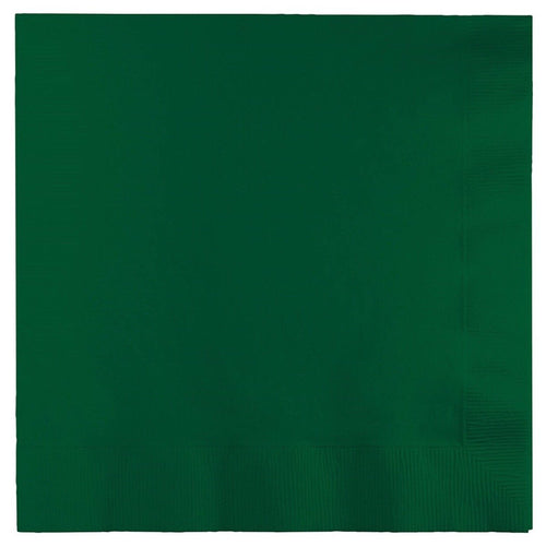 Hunter Green luncheon paper napkins 50pcs