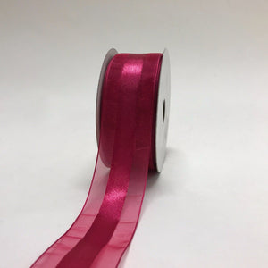 Beauty - Organza Ribbon Satin Center - ( 1-1/2 inch | 25 Yards )
