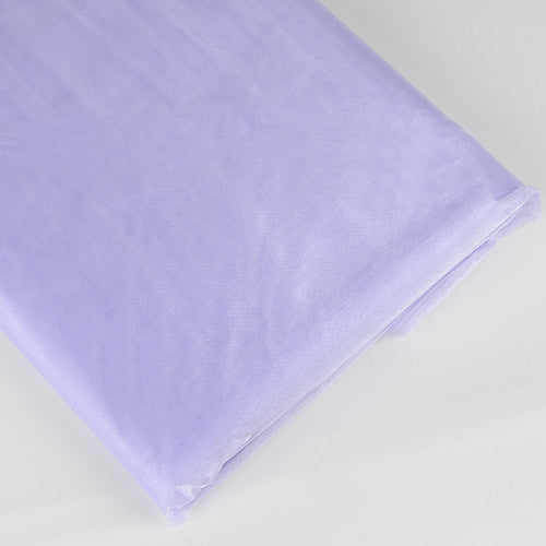 Organza Fabric Bolt (25 Yards) Lavender