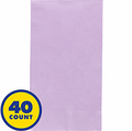 Lavender Party Pack Guest Towels 40pcs