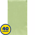 Leaf Green Party Pack Guest Towels 40pcs