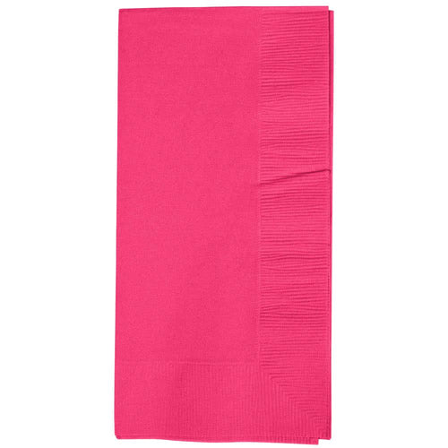 Magenta Party Pack Guest Towels 40pcs
