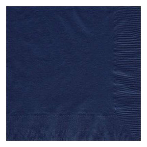 Navy Blue luncheon paper napkins 50pcs