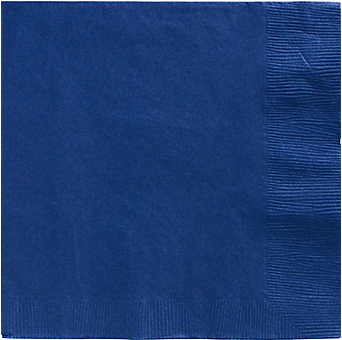 Royal Blue luncheon paper napkins 50pcs