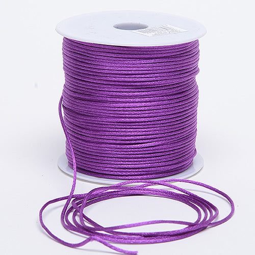 Ultra Violet - 2mm Satin Rat Tail Cord - ( 2mm x 200 Yards )
