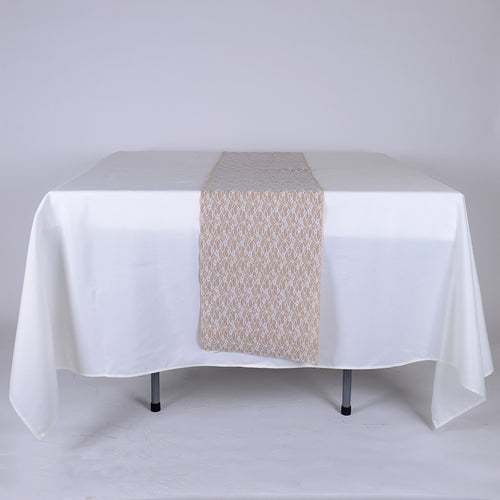 14 inch  Burlap Table Runners