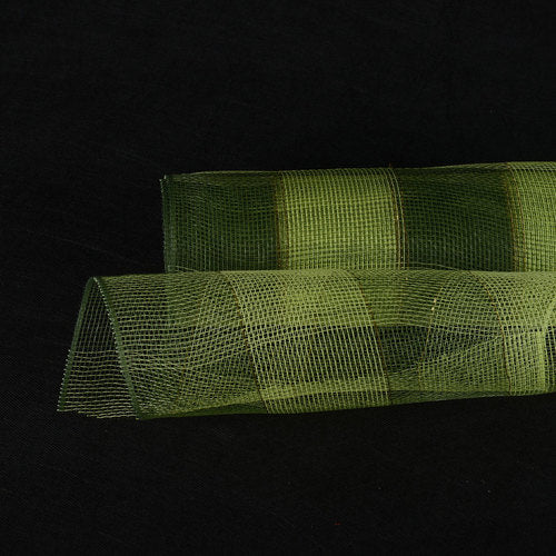 Hunter Green  - Christmas Mesh Wraps -  ( 10 Inch x 10 Yards )
