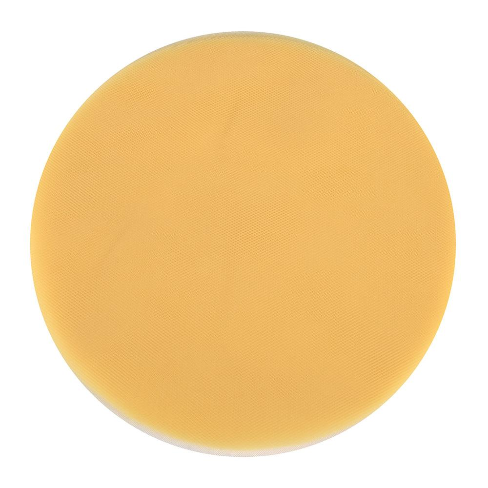 Light Gold - Premium Tulle Circle - ( 12 inch | 25 Pieces )