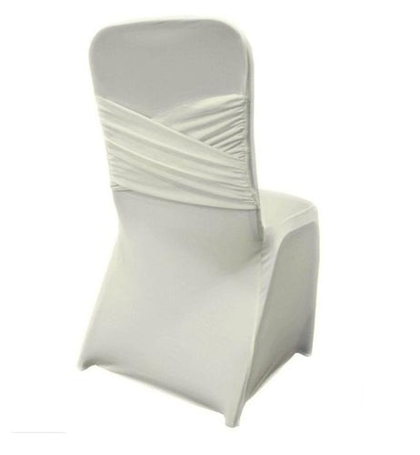 Ivory - Madrid Spandex Chair Cover - ( Chair Cover )