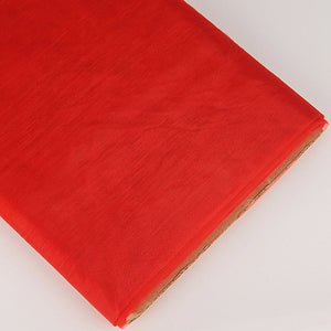 Organza Fabric Bolt (10 Yards) Red