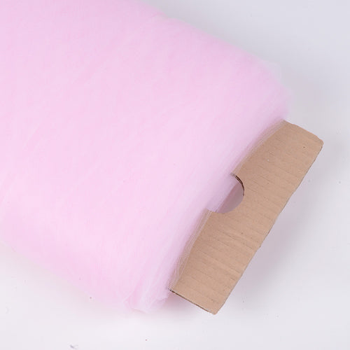 108 inch Light Pink 108 Inch Premium Tulle Fabric Bolt