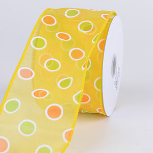 Daffodil Spring Ribbon - ( W: 1-1/2 Inch | L: 10 Yards )