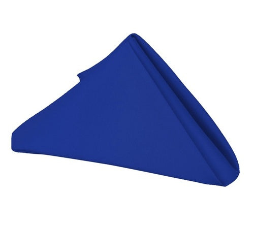 Royal Blue - 17 x 17 Inch Polyester Napkins ( 5 Pieces )