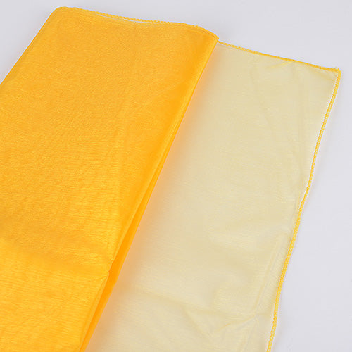 28 inch Daffodil Wedding Organza Fabric Decor
