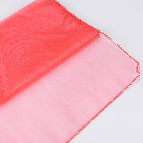 14 inch x 108 inches Melon Organza Table Runners