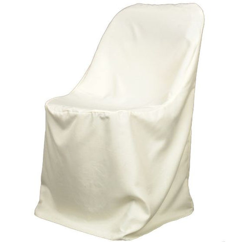 Chair Cover Folding Chair Cover Poly Ivory Wholesale Chair Covers