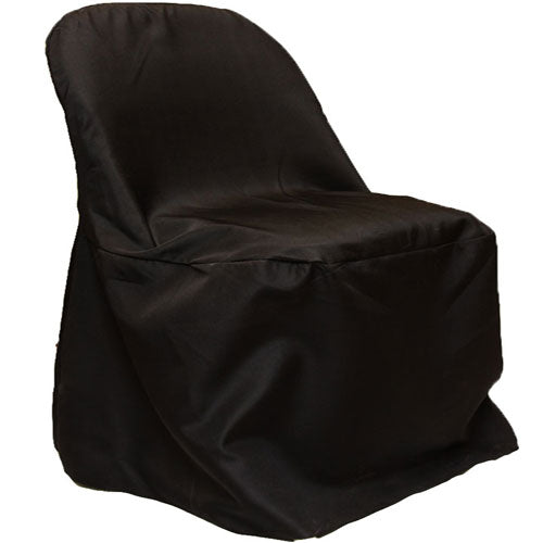 Chair Cover Folding Chair Cover Poly Black Wholesale Chair Covers