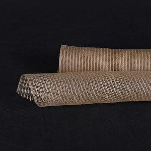 21 Inch x 6 Yards Natural Natural Jute Mesh
