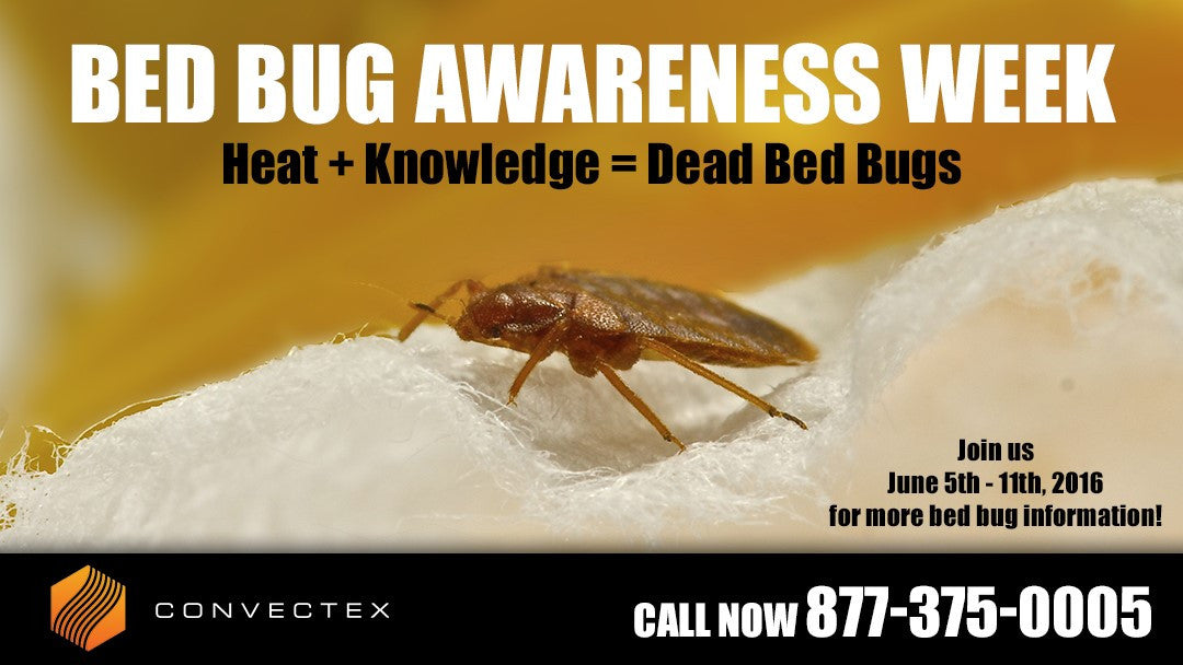 Bed Bug Awareness Week 2016 - Bed Bugs Are Everywhere!