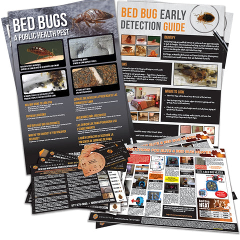 Bed Bug Identification Cards