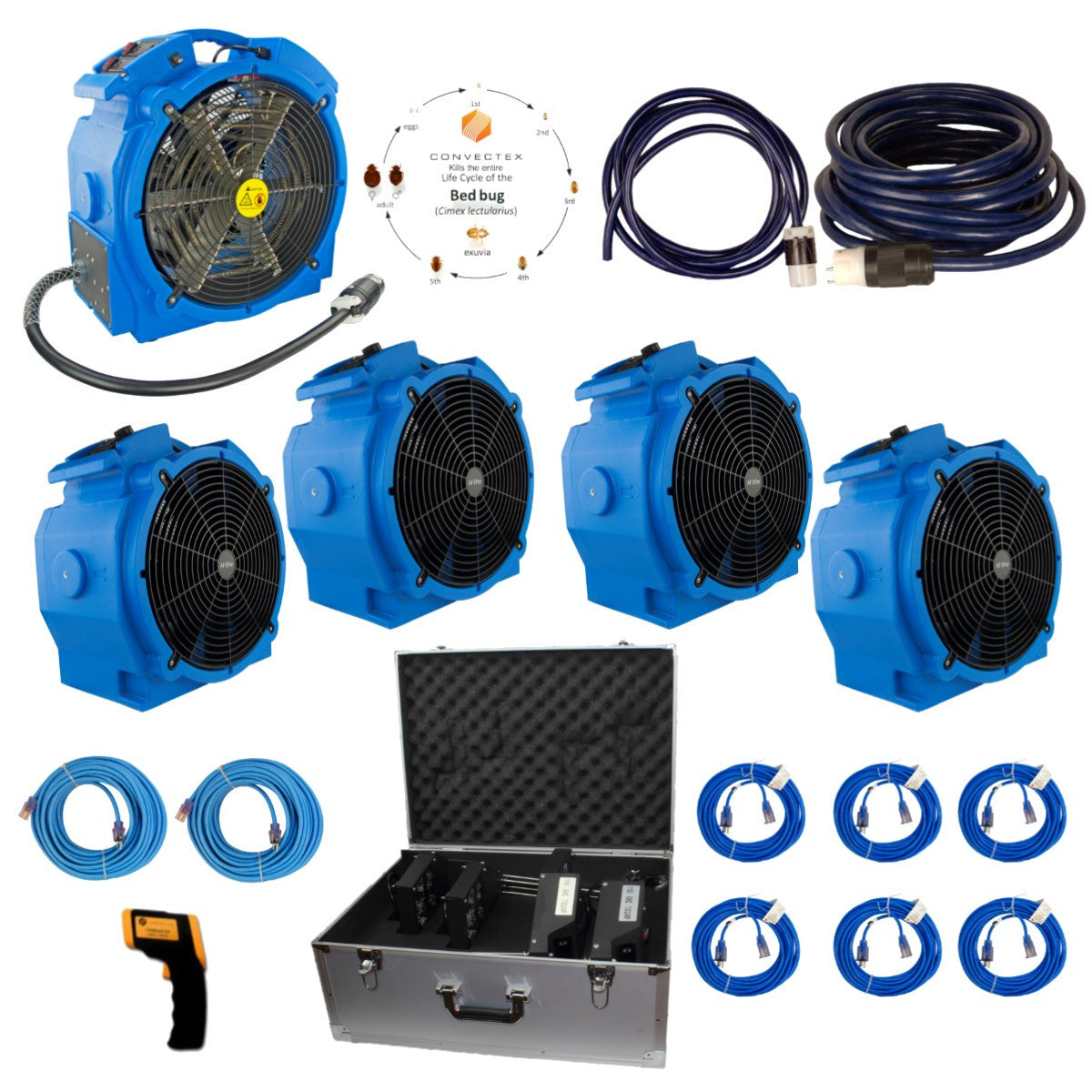 Apartment and Professional Bed Bug Heat Treatment Equipment