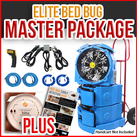Kill Bed Bugs Fast with Professional Heat Treatment Equipment Packages
