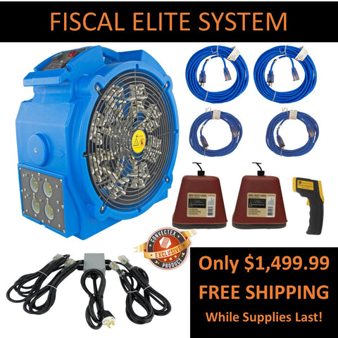 Fiscal Elite Bed Bug Heat Package - New