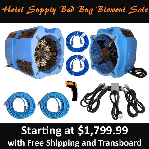 Hotel Supply Bed Bug Blowout Sale