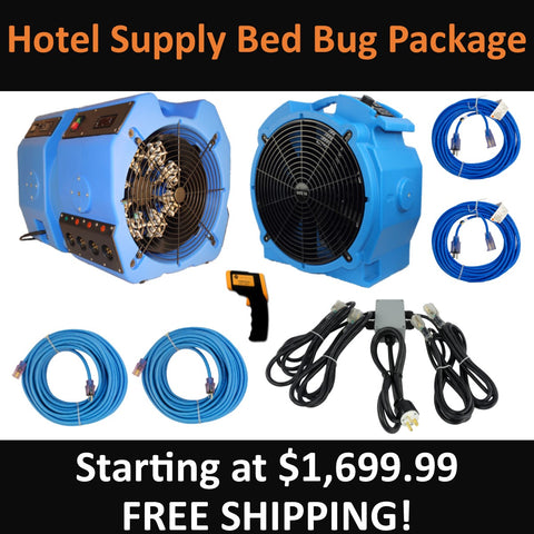 Hotel Supply Bed Bug Package