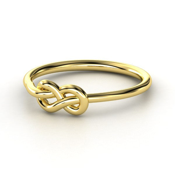 Knot Ring - Yellow Gold