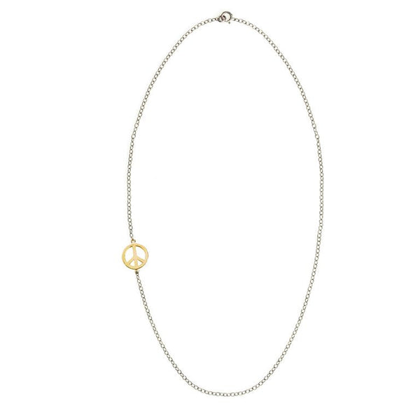 Asymmetric Peace Necklace