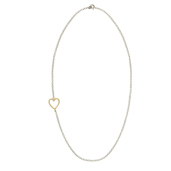 Asymmetric Love Necklace