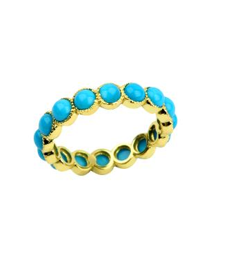 Oia Eternity Ring -Yellow Gold
