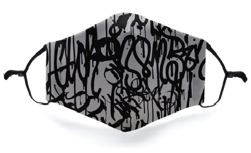 Graffiti Mask - Viso Designs