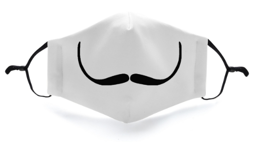 Money Heist Mustache Mask - Viso Designs