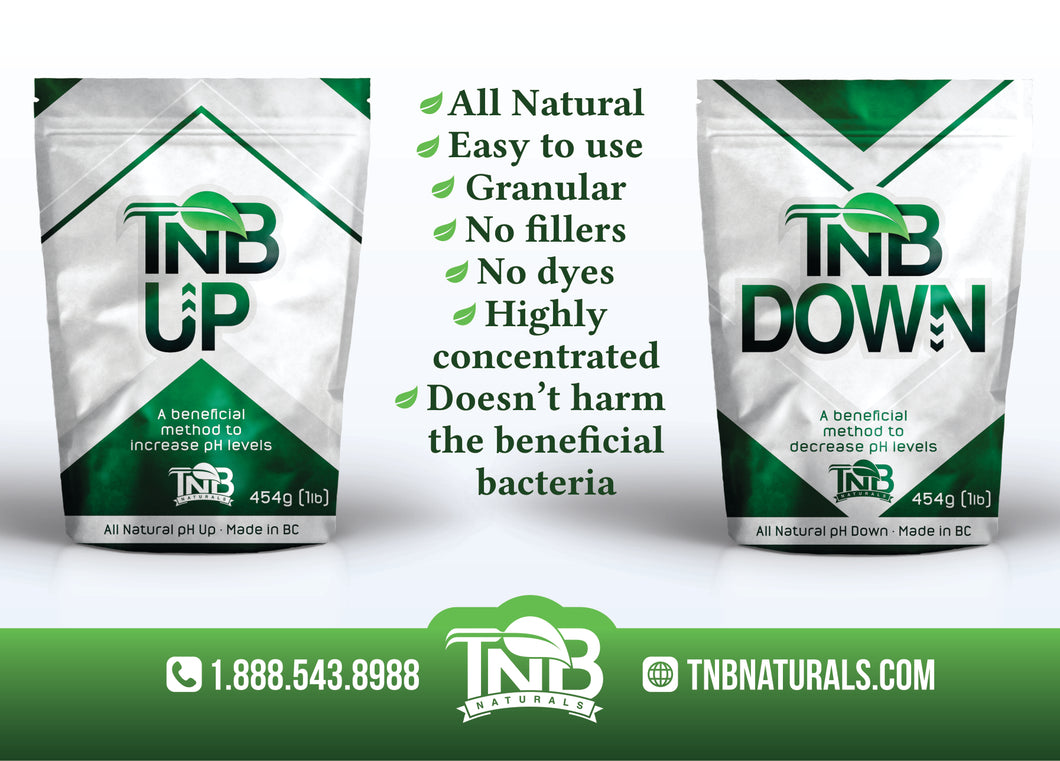 TNB pH UP & DOWN Info Card