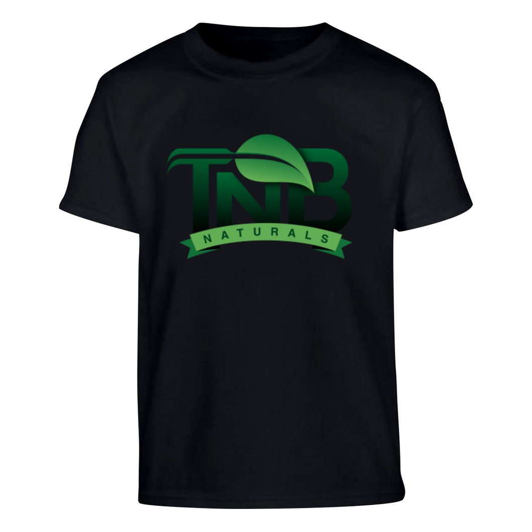 TNB Naturals Short Sleeve Tshirt Green Gradient Logo