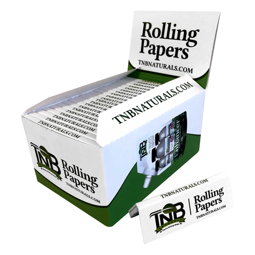TNB Natural Rolling Papers Full Box - 40 packs