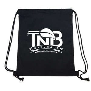 TNB Naturals Black Drawstring Bag