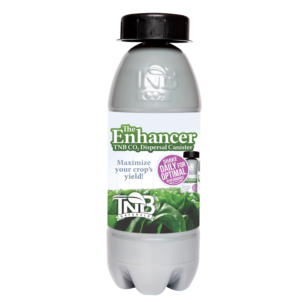 The Enhancer natural CO2 generator bottle