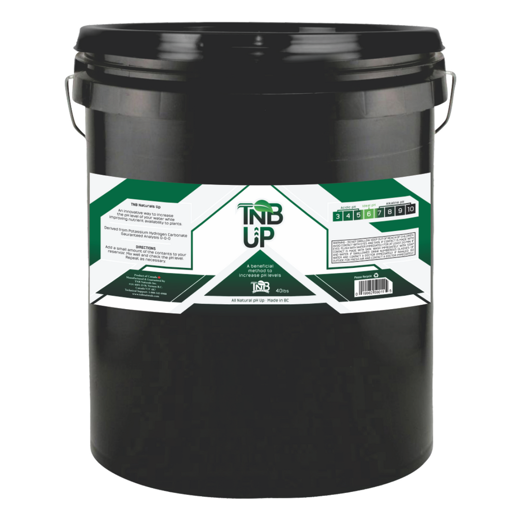 TNB Naturals granular pH UP 40lbs