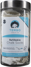 Refillable Chalk Sock - Box of 50