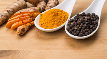 Enhancing Curcumin Absorbency with Black Pepper