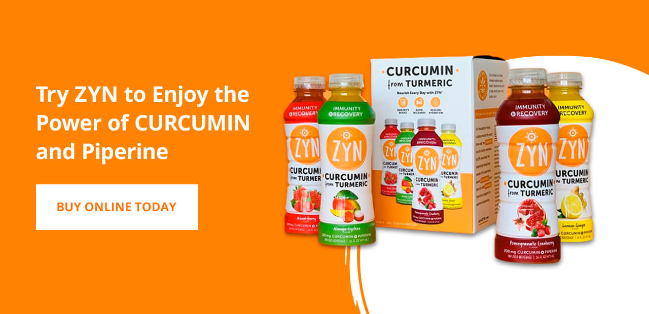 Try ZYN to Enjoy the Power of CURCUMIN and Piperine