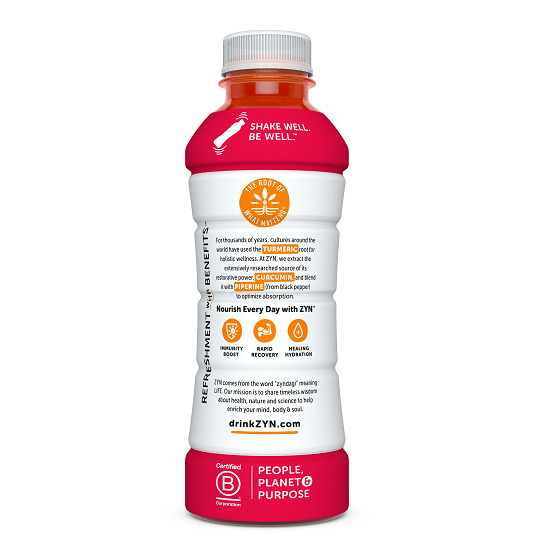 ZYN Immunity & Recovery Drink - Mixed Berry